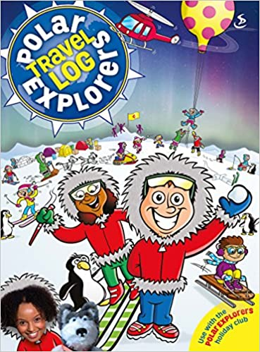 Polar Explorers Travel Log: 5-8s Activity Book