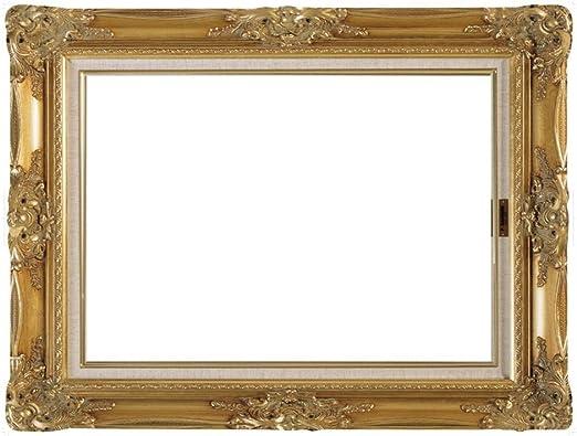 LUOEM Bricolaje Paper Picture Frame Cutouts Antique Photo Booth Props para la fiesta de cumplea/ños de la boda Oro