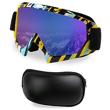 Hootracker Gafas Esqui Máscara Gafas Esqui Snowboard Nieve ...