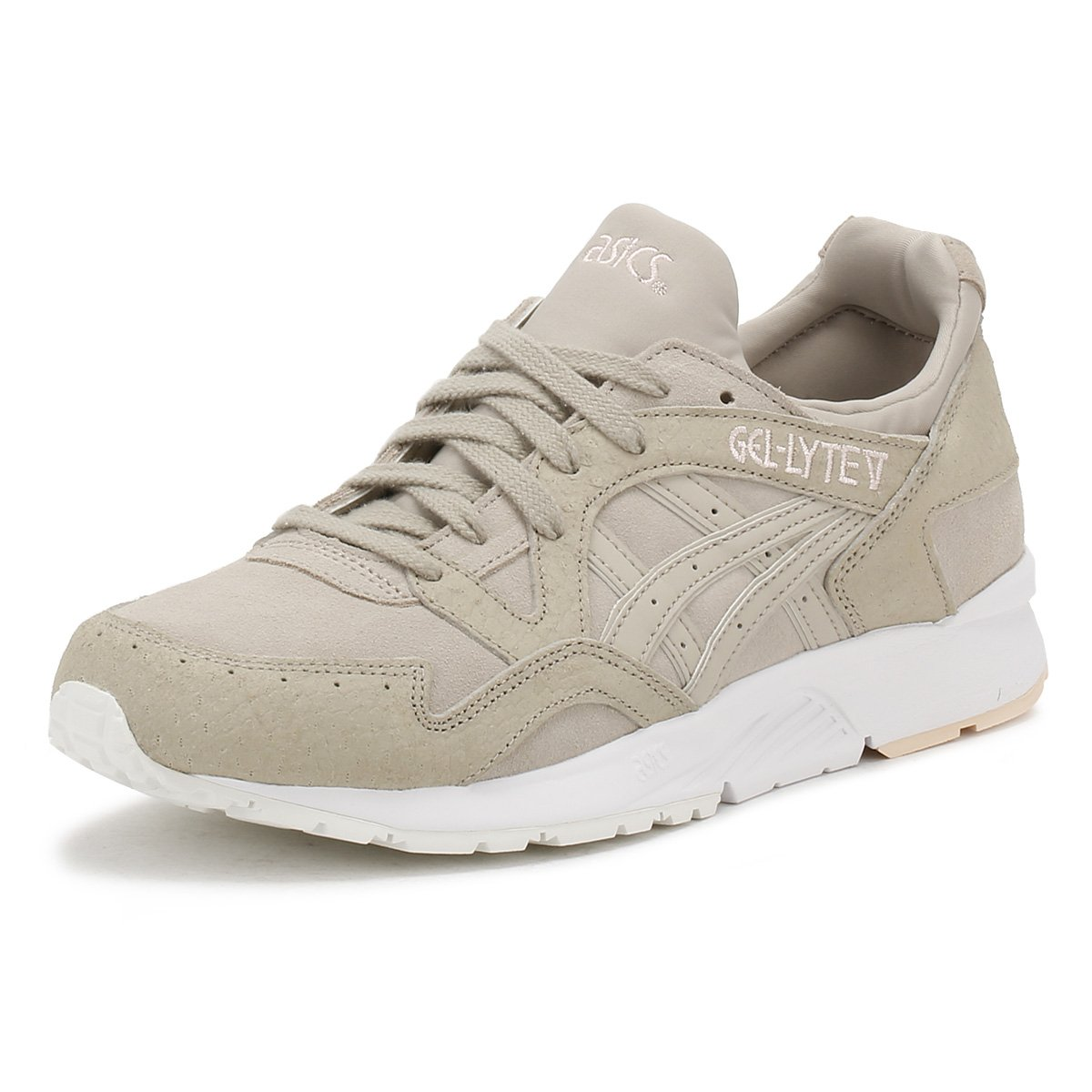 Asics Damen Gel-Lyte V Gymnastikschuhe  5.5|Feather Grey