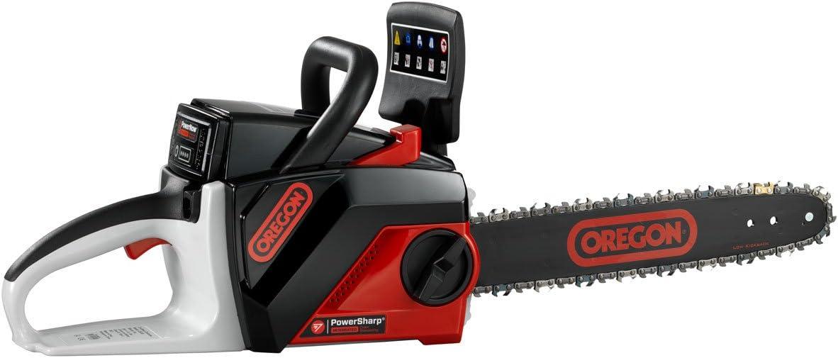 6. Oregon CS250-S6 40V Cordless Chainsaw