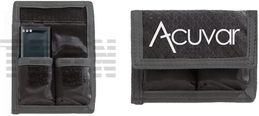 Acuvar Small Battery Pouch for Nikon EN-EL23 &Others