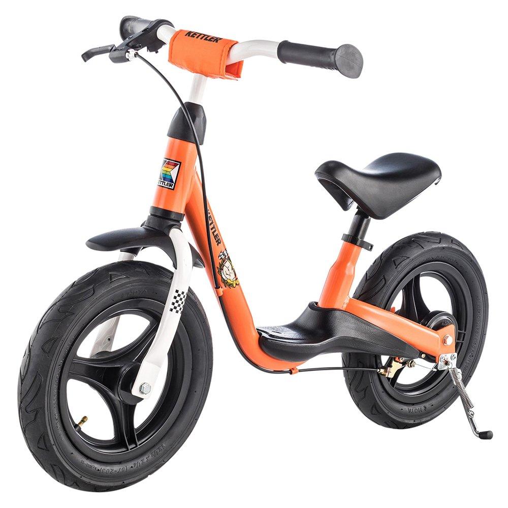 Kettler Laufrad Spirit Air Racing 2.0 das ideale & verstellbare Lauflernrad Kinderlaufrad mit Reifengröße:12, 5 Zoll – mit Luftbereifung – stabiles & sicheres Laufrad ab 3 Jahren – orange & schwarz Heinz Kettler GmbH & Co. KG