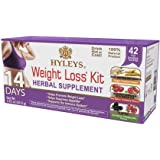 HYLEYS Tea 14 Days Weight Loss Kit - 42 Tea Bags (100% Natural, Sugar Free, Gluten Free and Non-GMO)