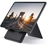 Lamicall Adjustable Tablet Stand Holder - Foldable Desktop Stand Charging Dock for Desk Compatible with iPad Air Mini…