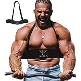 Jayefo Sport Arm Blaster for Curl Bar Arm Biceps Triceps Dumbbells & Barbells Bicep Isolator Strength Curling Muscle…