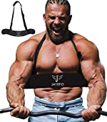 Jayefo Sport Arm Blaster for Curl Bar Arm Biceps Triceps Dumbbells