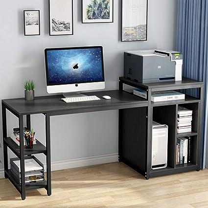 Reputable Site 9759d 8af69 Desk With Printer Storage