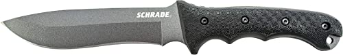 Schrade SCHF9 12.1in High Carbon Steel Fixed Blade Knife