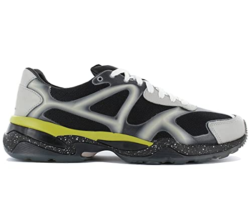 Puma Alexander Mcqueen MCQ Run Lo 357158 - 03 Hombre Zapatillas de Zapatillas Sport Guantes Hombres Guantes de Piel Malla, Color Negro, ...