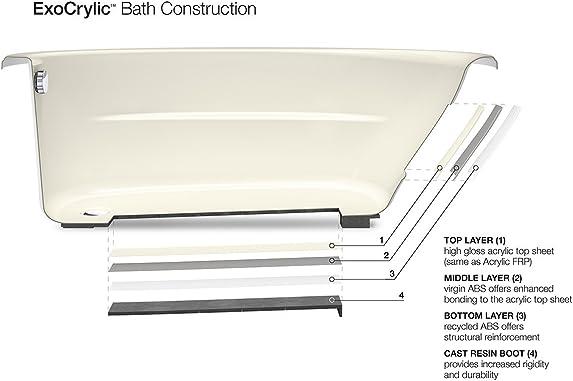 KOHLER K-1155-0 5454 Corner bath