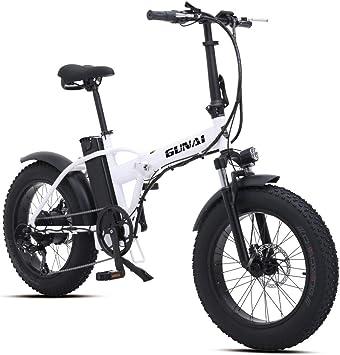 Bicicleta Eléctrica 500W 20 Pulgadas 48V 15Ah Neumático Gordo ...