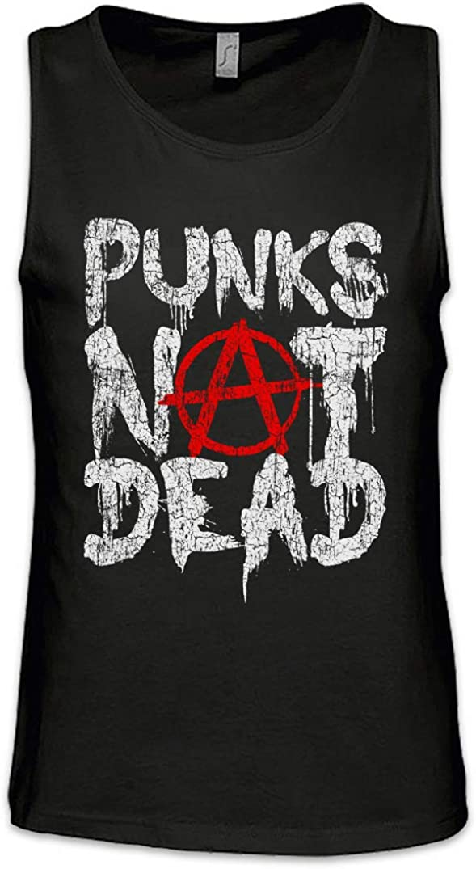 Urban Backwoods Punks Not Dead II Men Uomo Canotta Tank Top Vest