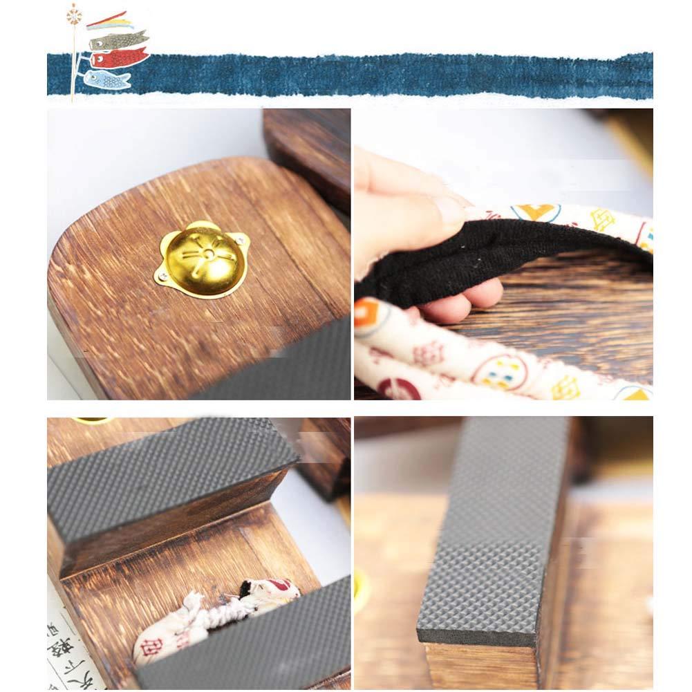 Zuecos de sandalia Geta con estilo japonés, de gran tamaño ...