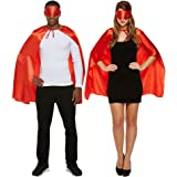Costume Fancy Dress Supereroe Blue Banana (Rosso) - Taglia Unica