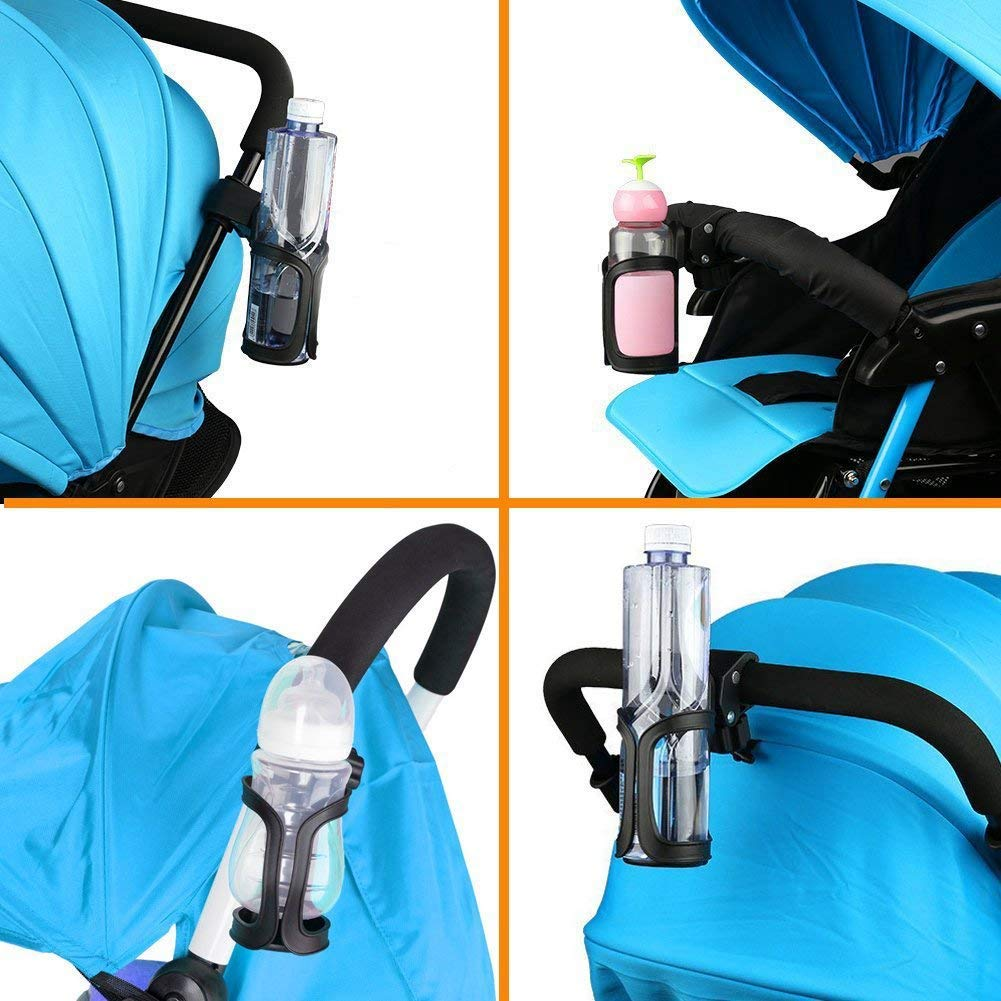 Stroller And Wheelchair Black Cikuso Bottle Cage Bicycle Mountain Bike 360 Degree Rotation Without Screws Bike Cup Holder For Drinking Bottle Baby Bottles Fit Bikes