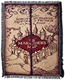 #3: Harry Potter, Marauder's Map Woven Tapestry Throw Blanket, 48