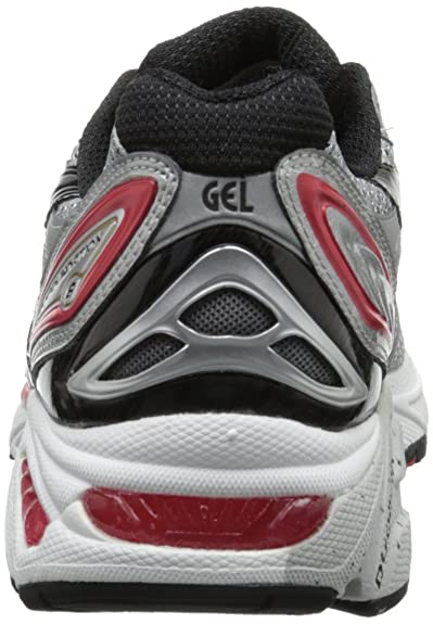 31fa282a7806b ASICS Men's Gel Foundation Silver: Asics: Amazon.com.au: Fashion
