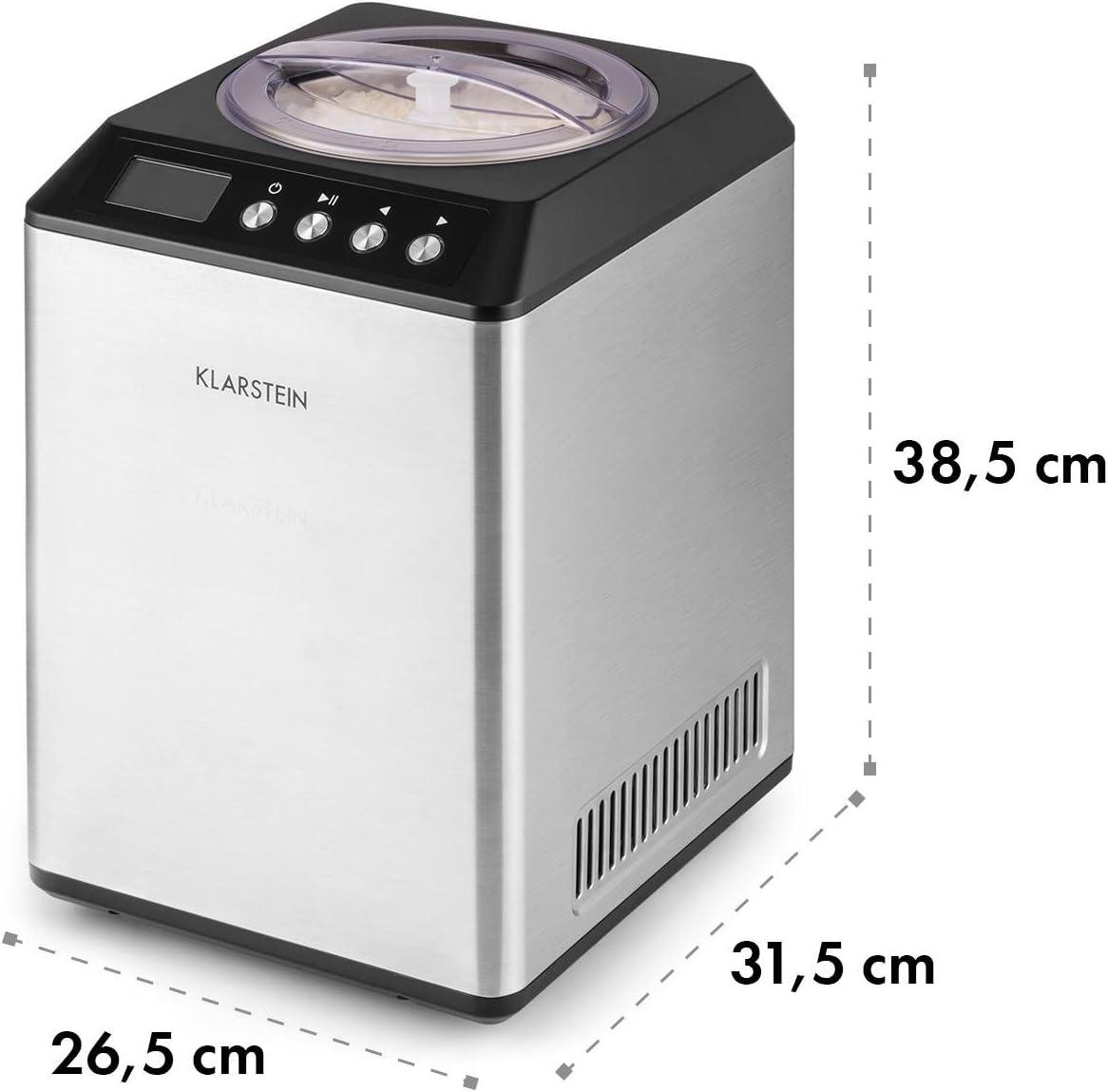 Klarstein Vanilly Sky Multi Edition - Máquina de helados ...