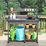 Topeakmart Potting Benches Tables Garden Potters