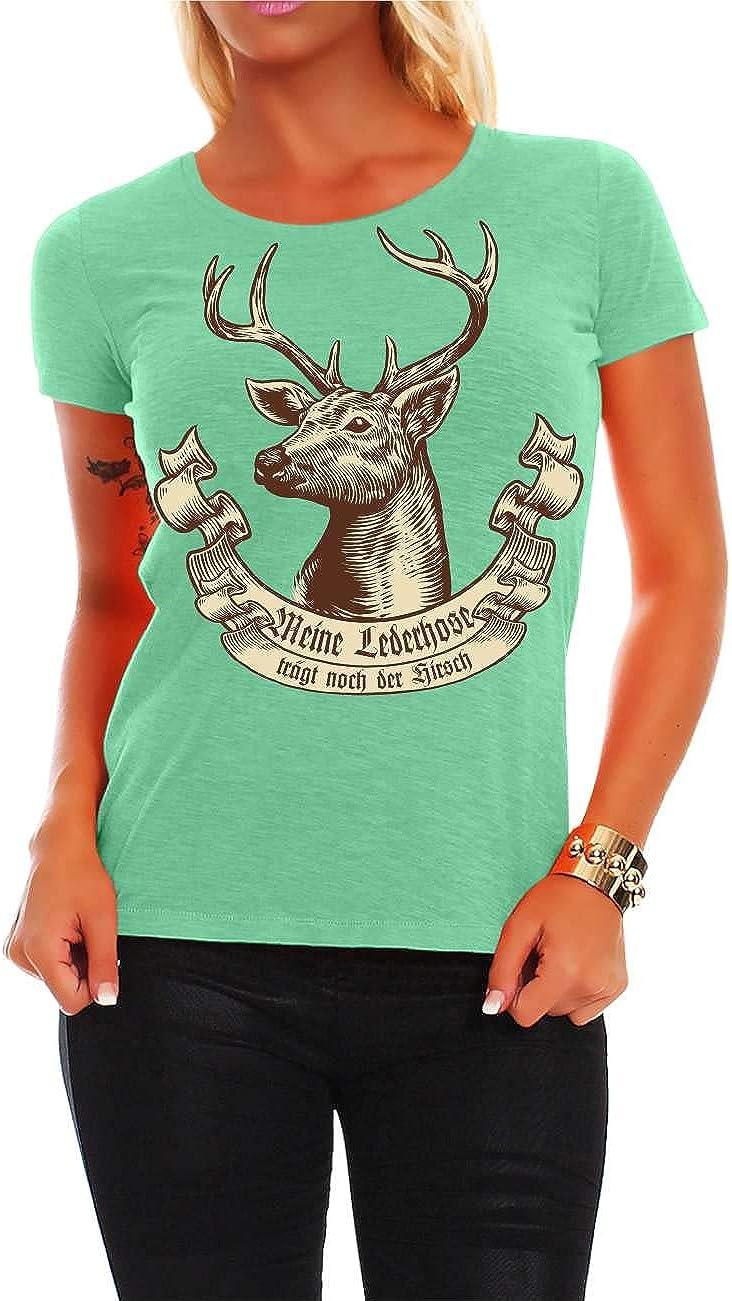 Frauen T-Shirt Reichet mir das Bier KÖNIGIN saufen Oktoberfest Größe XS 5XL