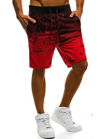 4c61d7da6d4 Eolgo Summer Fashion Casual Mens Short Trousers Breathable Printing Daily  Wild Beach Pants