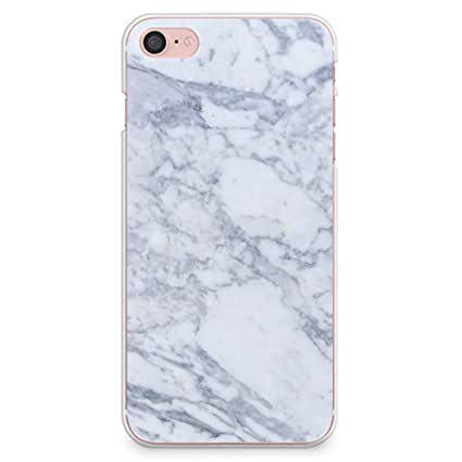 save off 9751a 10d6b iPhone 8 Case, iPhone 7 Case, CasesByLorraineGray Marble Print Case Slim  Hard Plastic Back Cover for Apple iPhone 7 & iPhone 8 (X03)