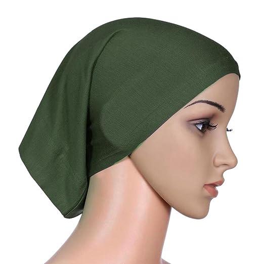 4643e5f18ad97 PanDaDa Women Under Scarf Cap Bone Bonnet Hijab Islamic Head Cover Muslim  at Amazon Women's Clothing store: