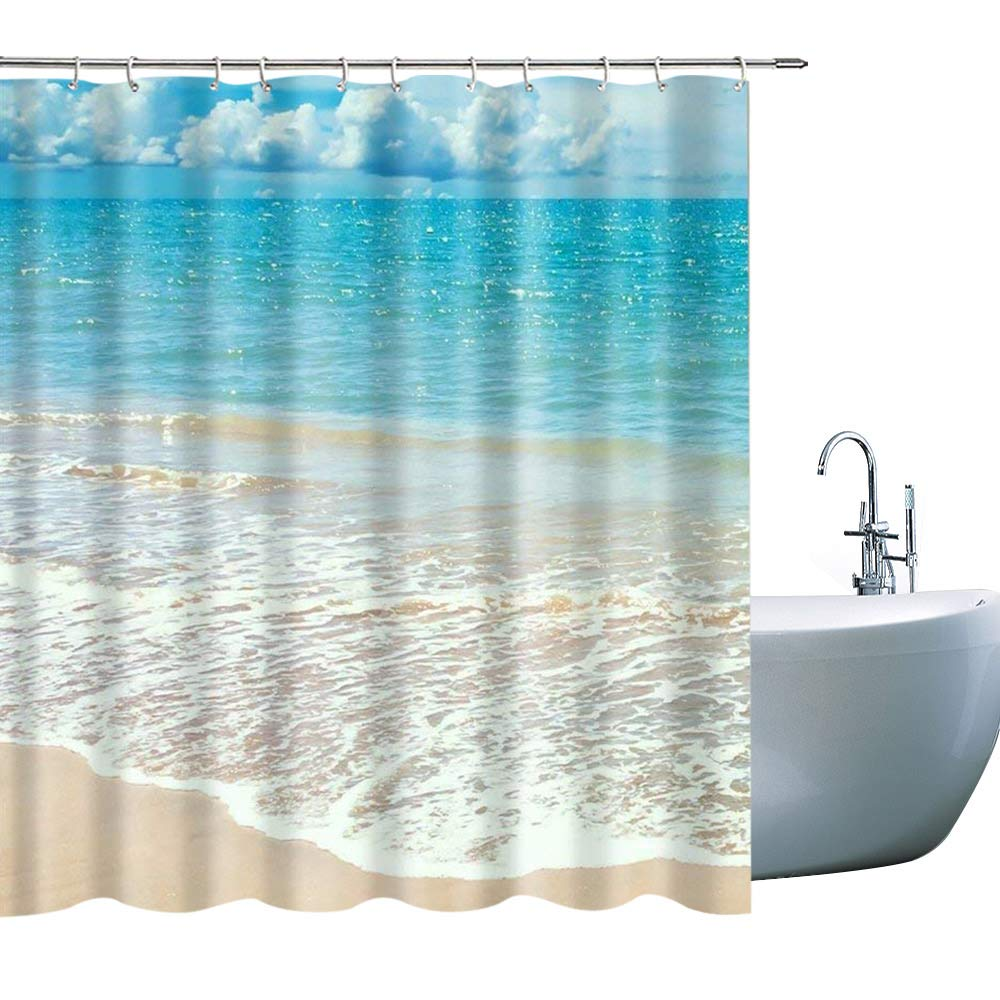 Periodic Elements for Kids Polyester Fabric Waterproof Shower Curtains Hooks Included Updated Periodic Table Shower Curtain 324H 71x71Inch