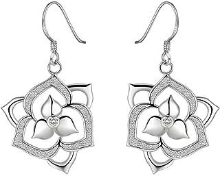 SaySure - 925 silver earring for women brincos de prata PCE482