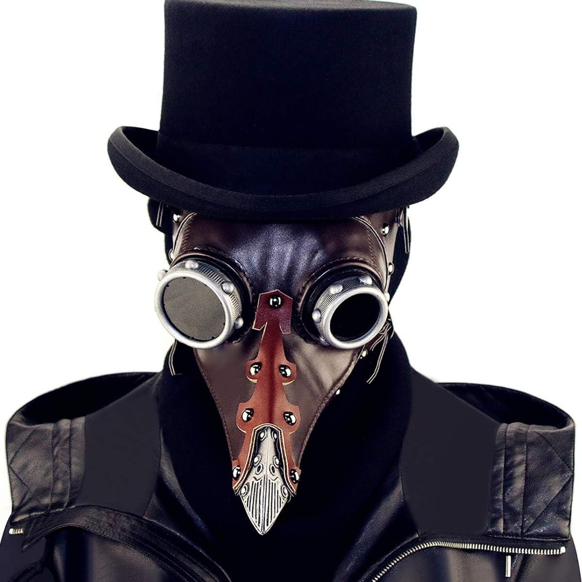 Máscara Estilo Gótico Steampunk HIZZEEN