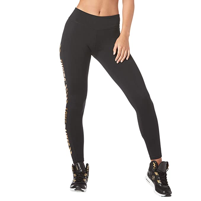 6843f25ad5 Zumba Fitness Wide Waistband Workout Athletic Print Capri Booty Shaping  Womens Pants Activewear Compression Leggings For Women