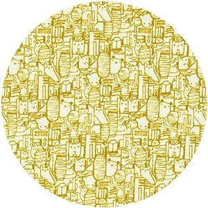 "Made in Japan Japanese 110/""L Yellow Mustard COTTON Kimono Yukata Wide Obi Belt"