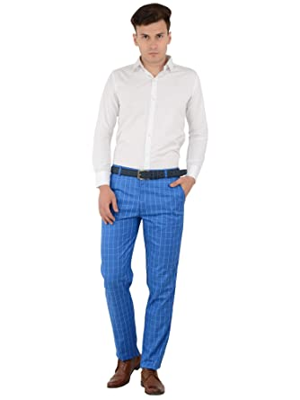 63a331483b9 SHAURYA-F Regular Fit Men Trousers  Amazon.in  Clothing   Accessories