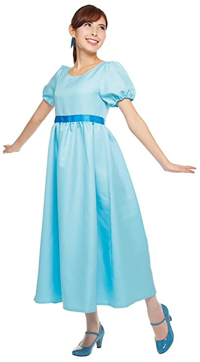Amazoncom Disneys Wendy Costume From Peter Pan Womens