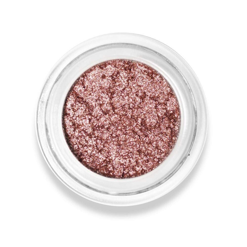 Foiled Glacé Eye Shadow Pot – Shiny Iridescent Metallic Finish. Blends Beautifully Onto Eyelids. Vivid Colors. Created by Celebrity Makeup Artist. Cruelty Free, Vegan, Made in USA. (Let's Go!)