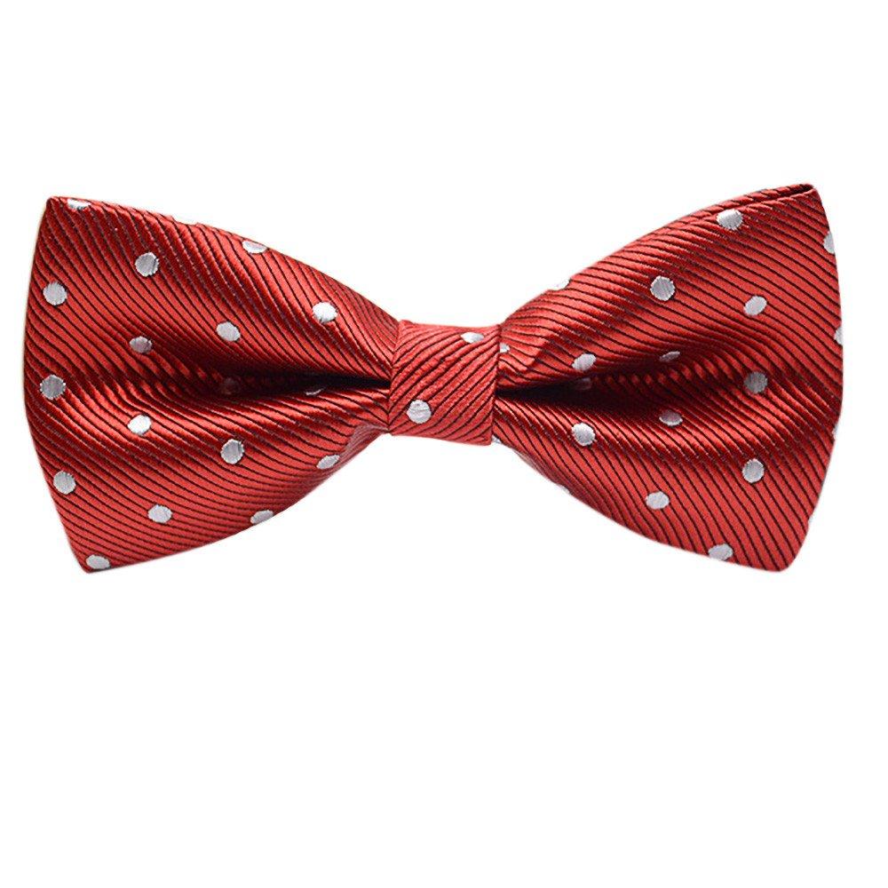Mens Tie Classic Plaids Adjustable Tuxedo Bowtie Fashion Formal Necktie (G)