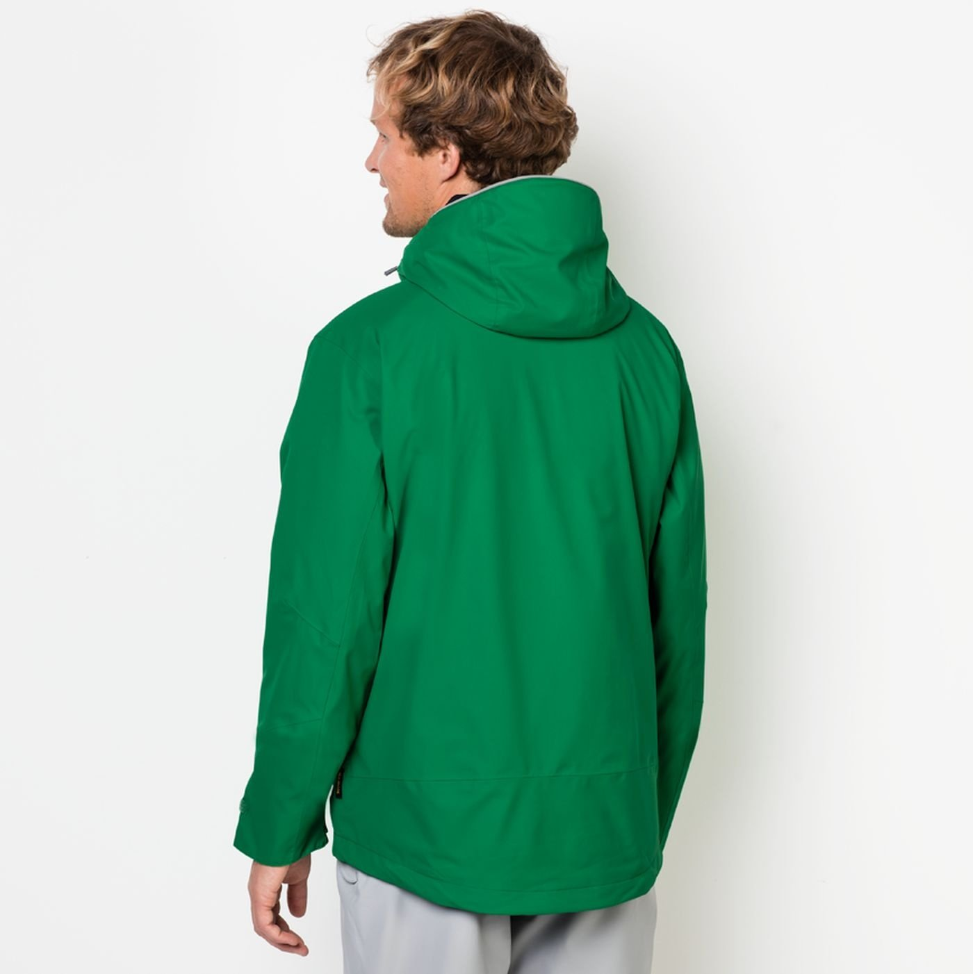 80454545ea2 Jack Wolfskin Men's 3in1 Jacket Vermillion Pass Men, Men, Forest Green,  XX-Large: Amazon.co.uk: Sports & Outdoors