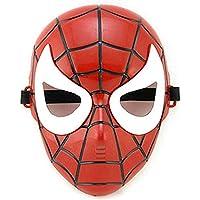 Spiderman Maske Kırmızı Beyaz