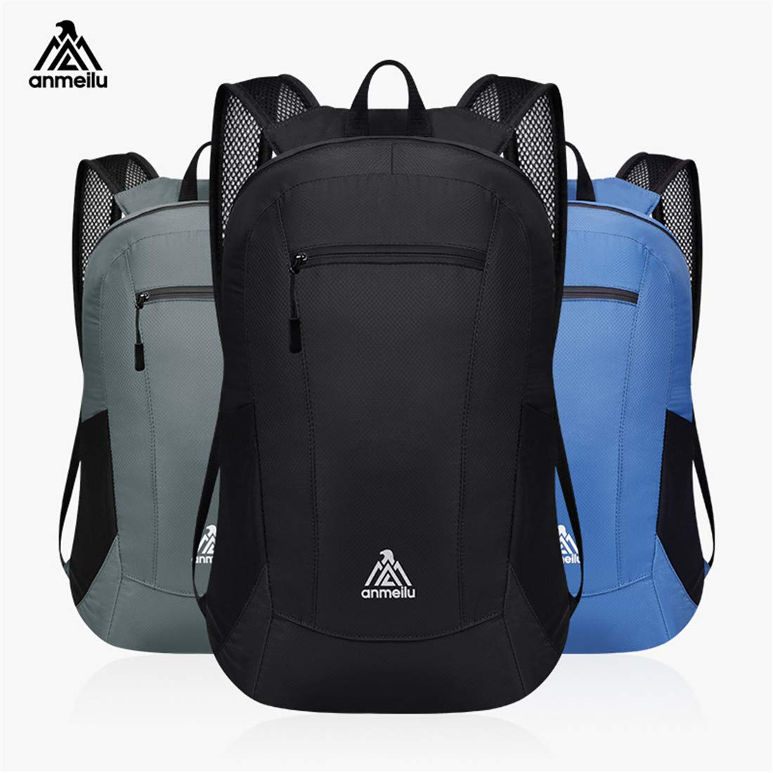 Fadsace Ultra Lightweight Durable Packable Water Resistant Travel Hiking Backpack Daypack Handy Foldable Camping Outdoor Backpack Little Bag