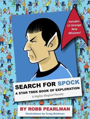 Search for spock star trek book of exploration hc