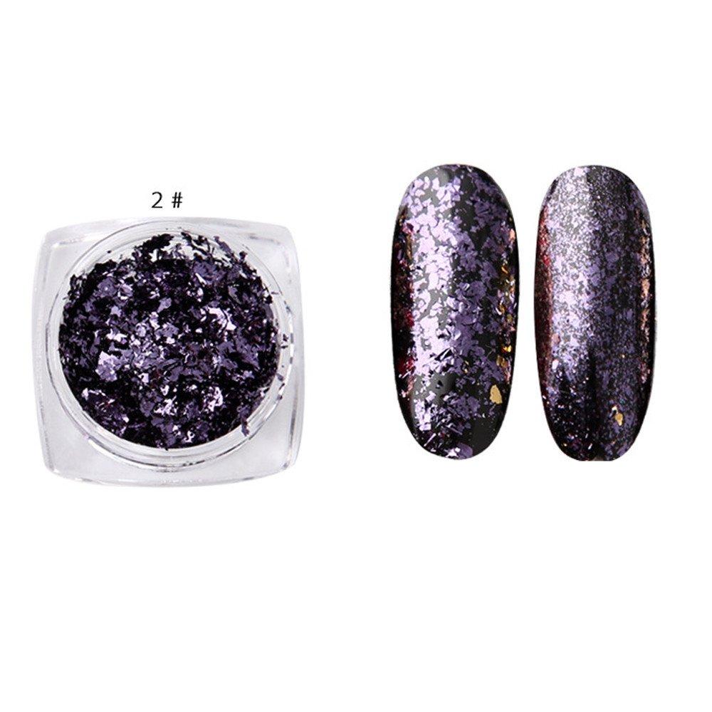 Nails Art & Werkzeuge Nagelglitzer 1 Box Chamäleon Flakes Magie Multi Chrom Nagel Pulver Glitter Pailletten Nail Art Gel Maniküre Liefert
