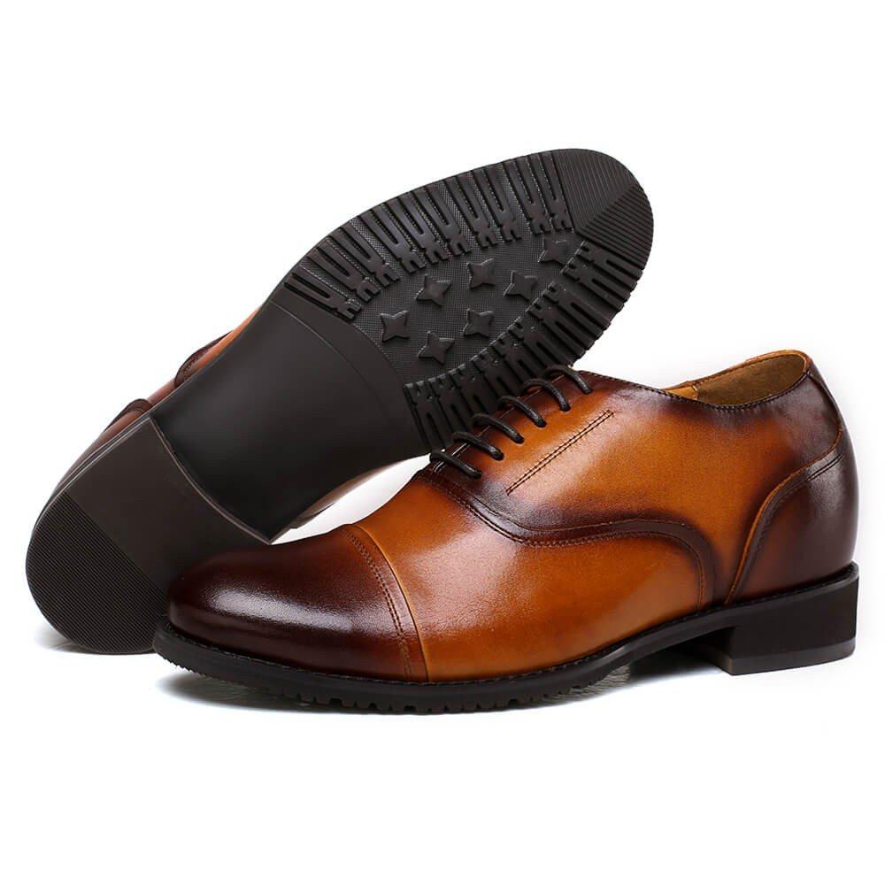 CHAMARIPA 252H11-1 Men's Height Increasing Elevator Dress Shoes Oxford 2.56'' Taller US 10 by CHAMARIPA (Image #2)