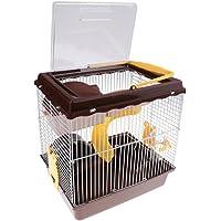 Baoblaze 2 Layers Hamster Cage Mouse House Pet Animal Feeding Habitat Gerbils