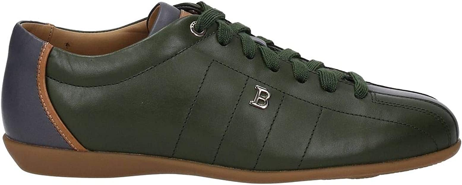 Melodioso Subjetivo Ir a caminar  Bally Men's Sneakers - (HAIDO2396198856) EU Green Size: 7 UK: Amazon.co.uk:  Shoes & Bags