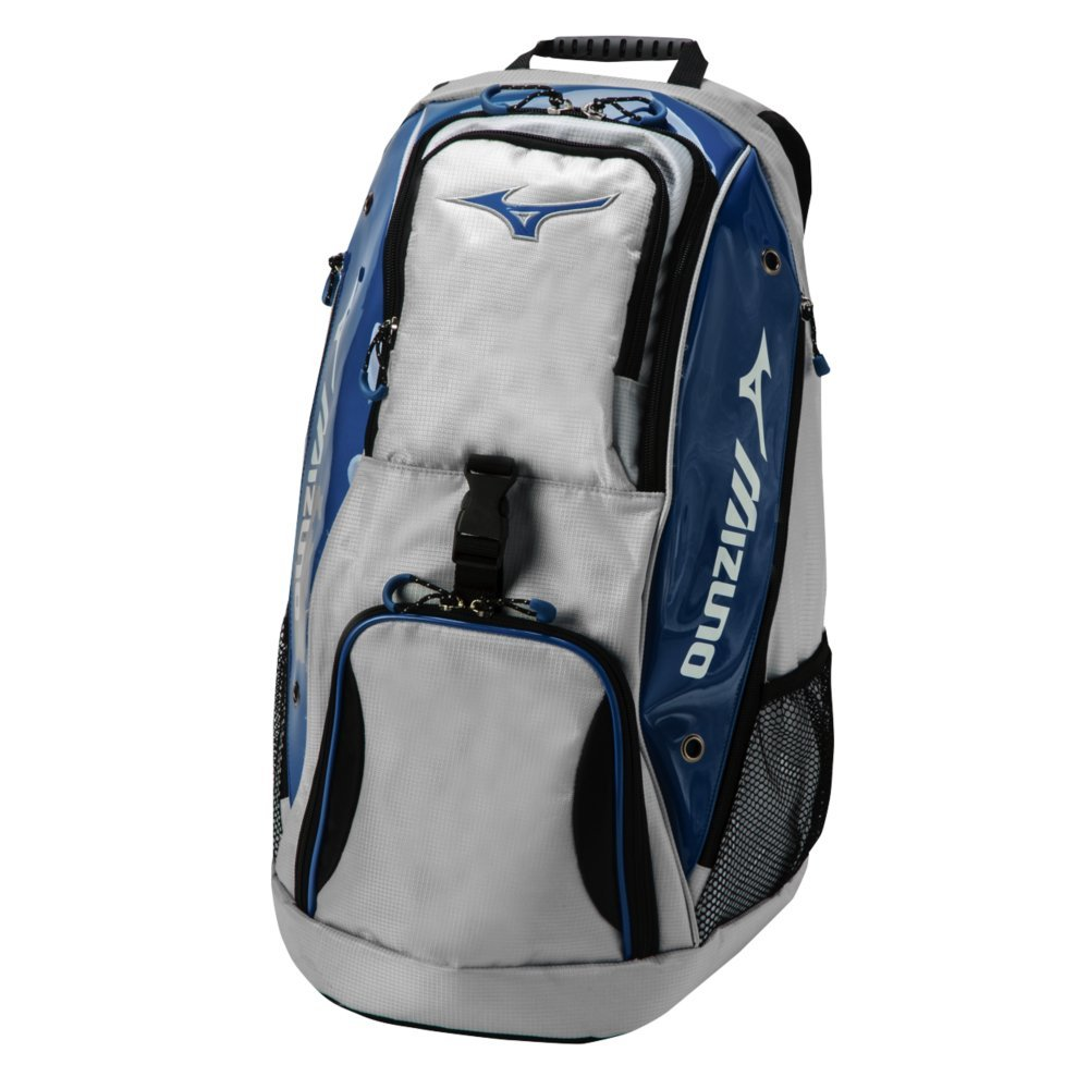 Mizuno Tornado Backpack Volleyball Equipment Bag - Grey & Navy