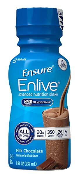 amazon com ensure enlive nutrition shake chocolate 12 count health personal care