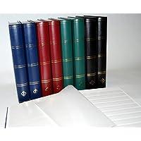 Prophila Leuchtturm classificatori 60 pagina bianco, rosso colori