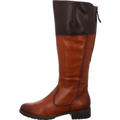 281d02f7bb9e Tamaris Damen Stiefel 1-1-25508-21 378 braun 522624  Amazon.de ...