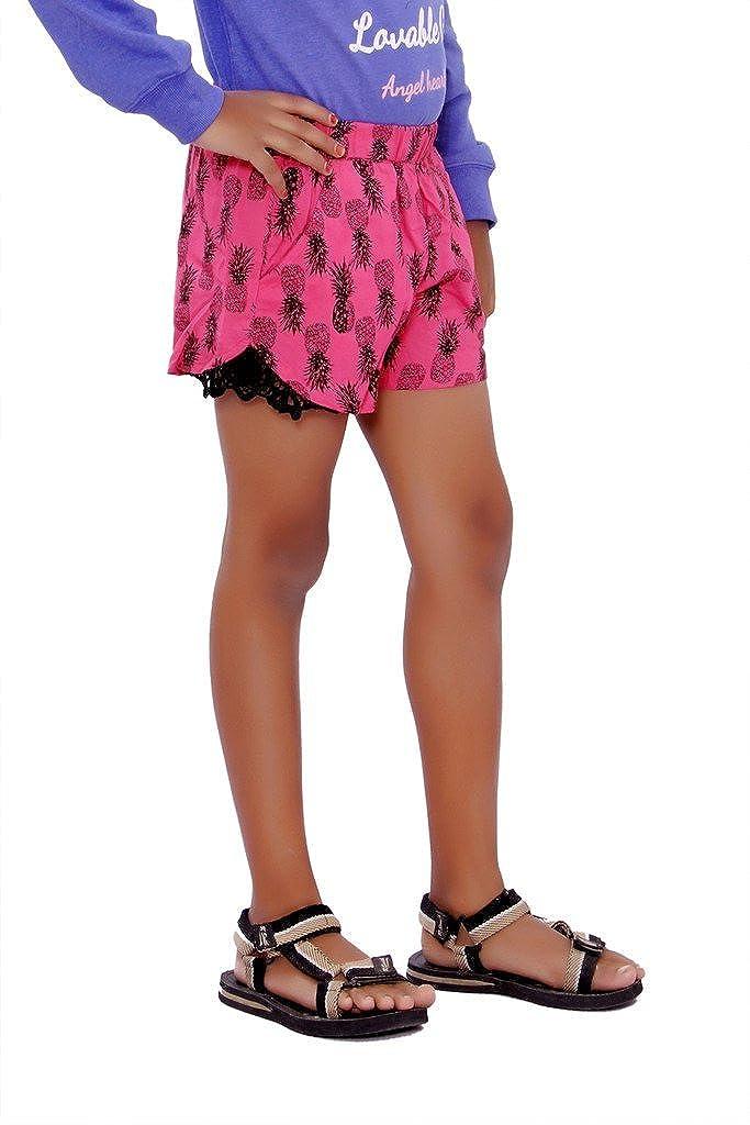 Wardtrobe Big Girls Beautiful Stylish Printed Shorts